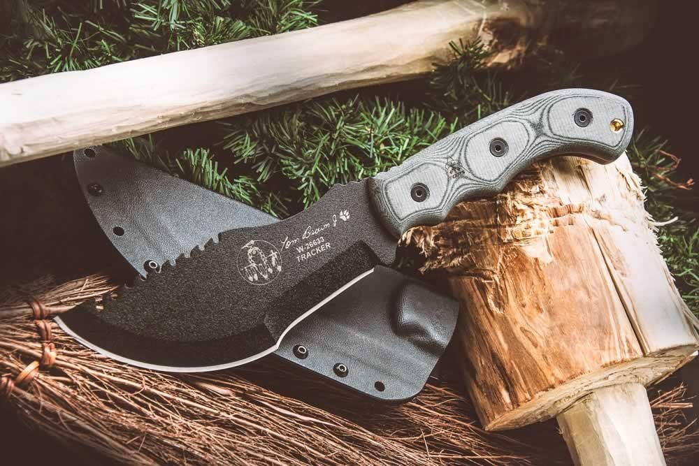 Tom Brown by Tops Knives Fixed
