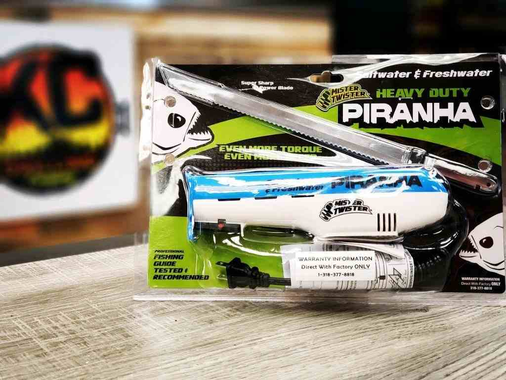 Mister Twister Piranha Electric Knife
