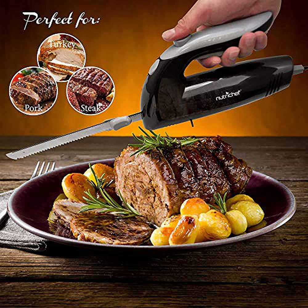 NutriChef Electric Kitchen Knife PKELKN16