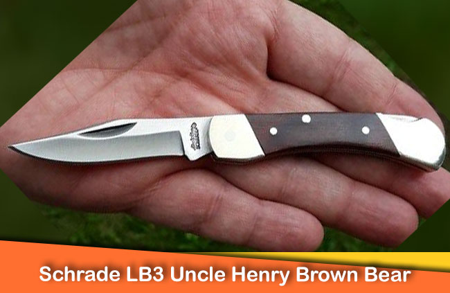 Schrade LB3 Uncle Henry Brown Bear