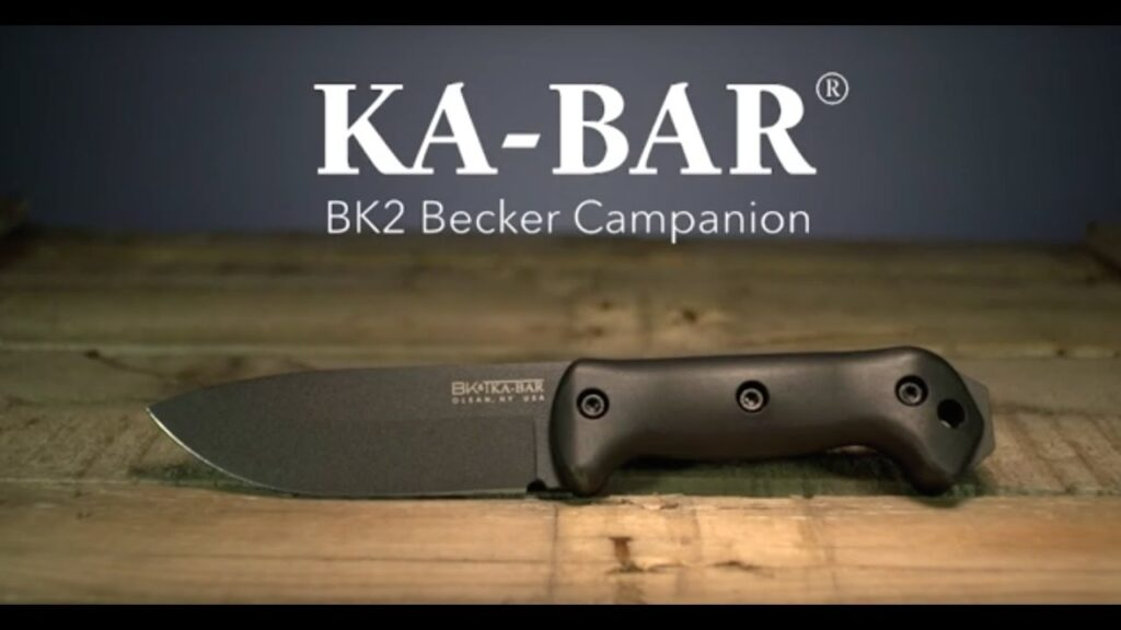 Excellent horizontal carry knife from Ka-Bar. It's small size and ambidextrous sheath make it ideal for backpacking.