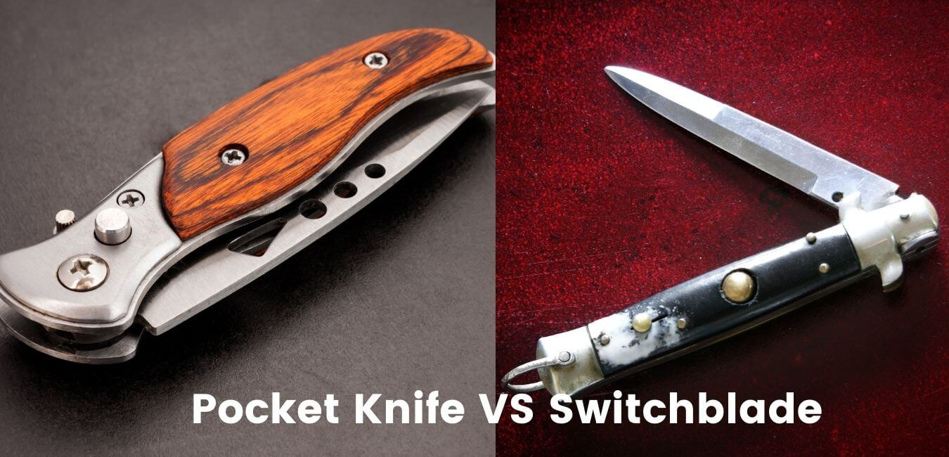 What is the difference between a pocket knife and a switchblade