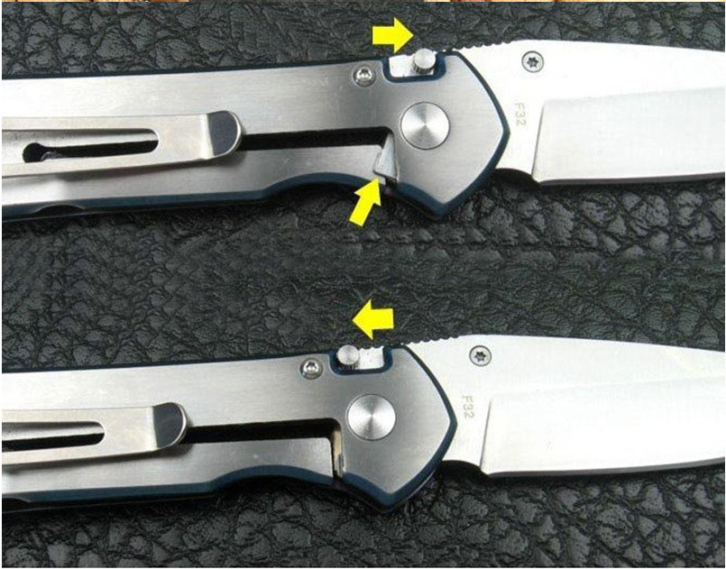 How to Close Frame Lock Knife