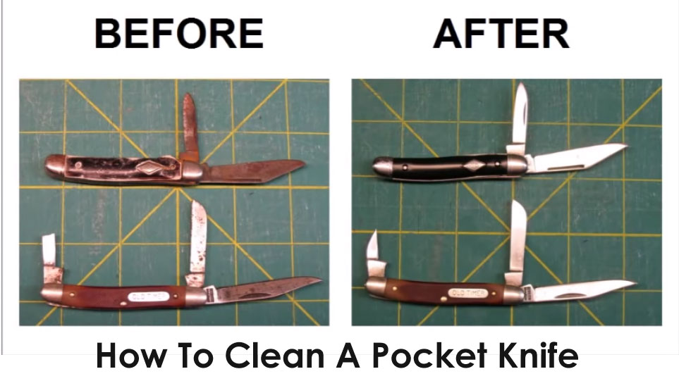 How To Clean A Pocket Knife