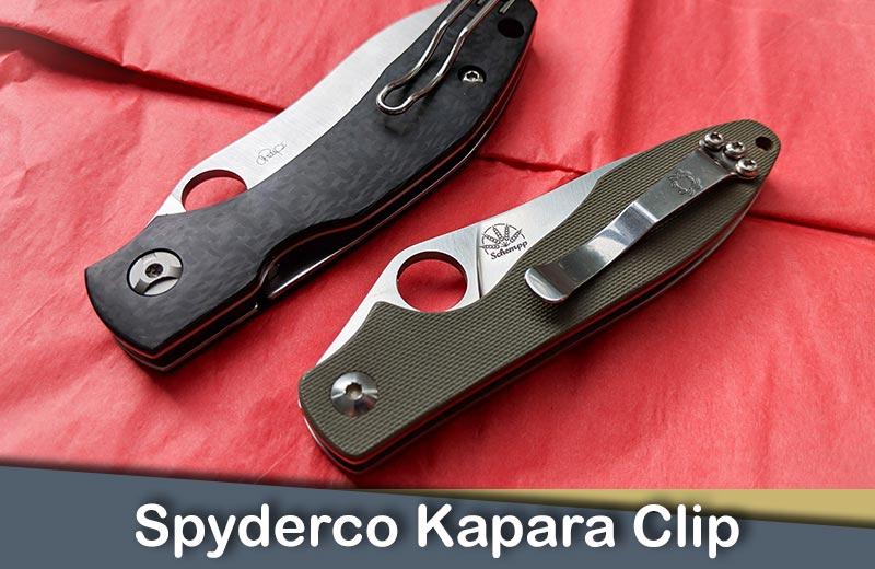 Spyderco Kapara Clip