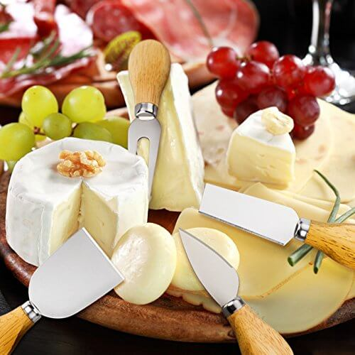 YXChome 4 Cheese Knives Set-Mini Knife